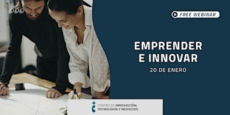 Webinar: Emprender e innovar entradas