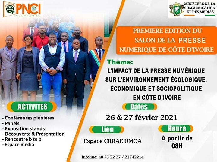 Image pour 1ère édition du Salon de la presse numérique de Côte d'Ivoire