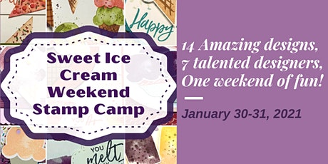 Sweet Ice Cream Stamp Camp tickets