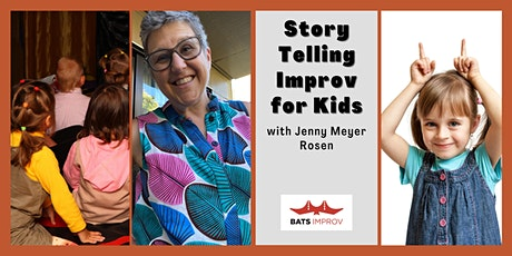 Online: Storytelling Improv for Kids with Jenny Meyer Rosen tickets