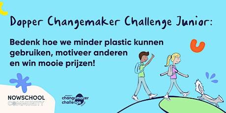 NOWSCHOOL ontmoet Dopper: Changemaker Challenge Junior tickets