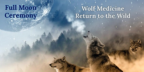 Wolf Medicine | Full Moon Ceremony tickets