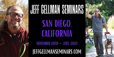 San Diego, California - Jeff Gellman's 2 Day, Problem Solving, Dog Training tickets