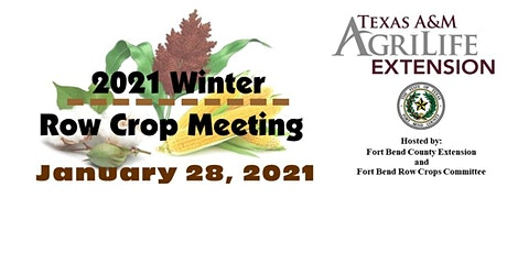 2021 Winter Row Crop Meeting tickets
