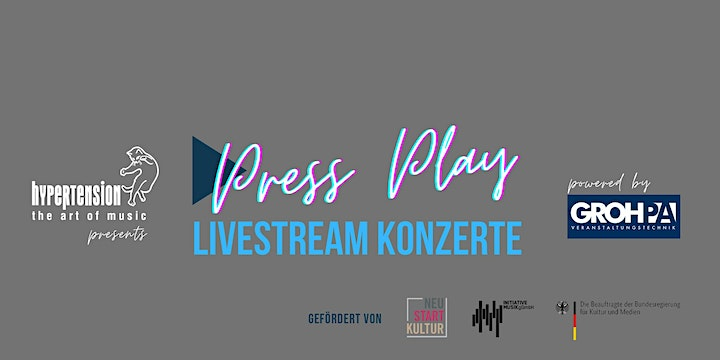 The Songbird Concert @ Press Play - Livestream Konzerte: Bild