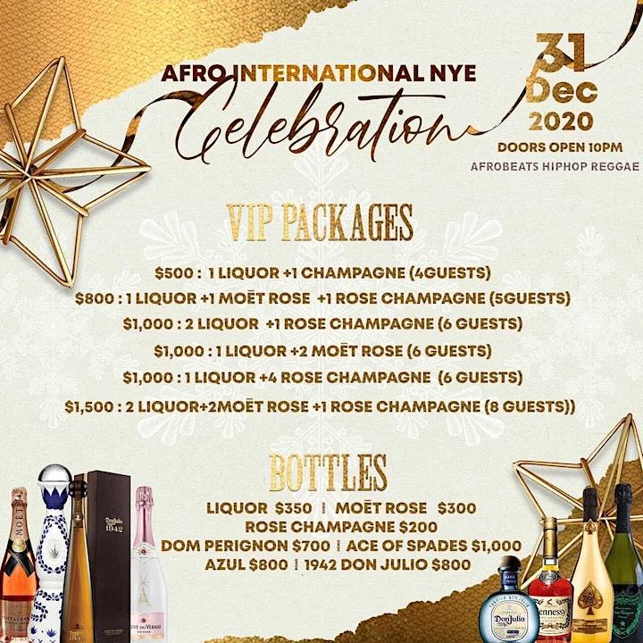 Afro International New Years Celebration! DJ Claude|DJ Savio| DJ CoolG image