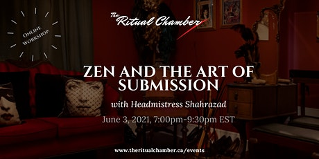 Zen and the Art of Submission tickets