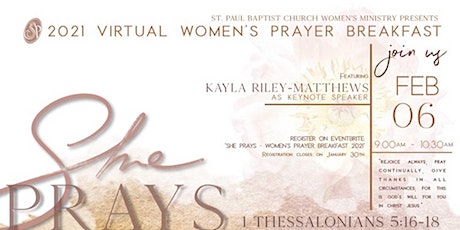 2021 Virtual Women's Prayer Breakfast tickets