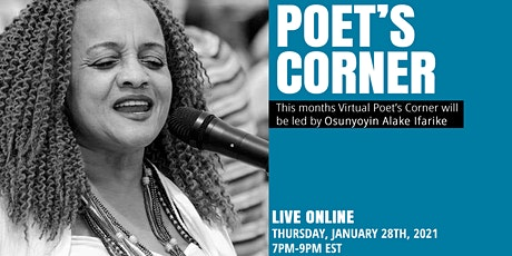 Virtual Poet's Corner: Live with Osunyoyin Alake Ifarike tickets