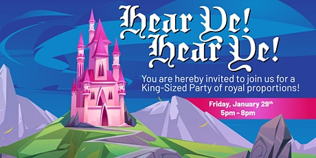 Princesses, Princes, & Pizza Party at Bonkers! tickets