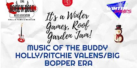 Winter Games Roof Garden Jam tickets