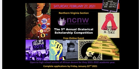 The 2021 NOVA NCNW Oratorical Scholarship Competition tickets