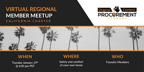 Virtual Member Meetup California tickets