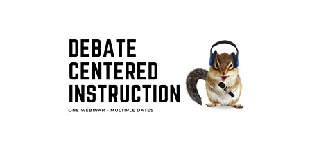 Debate Centered Instruction Webinar with Robert Litan tickets