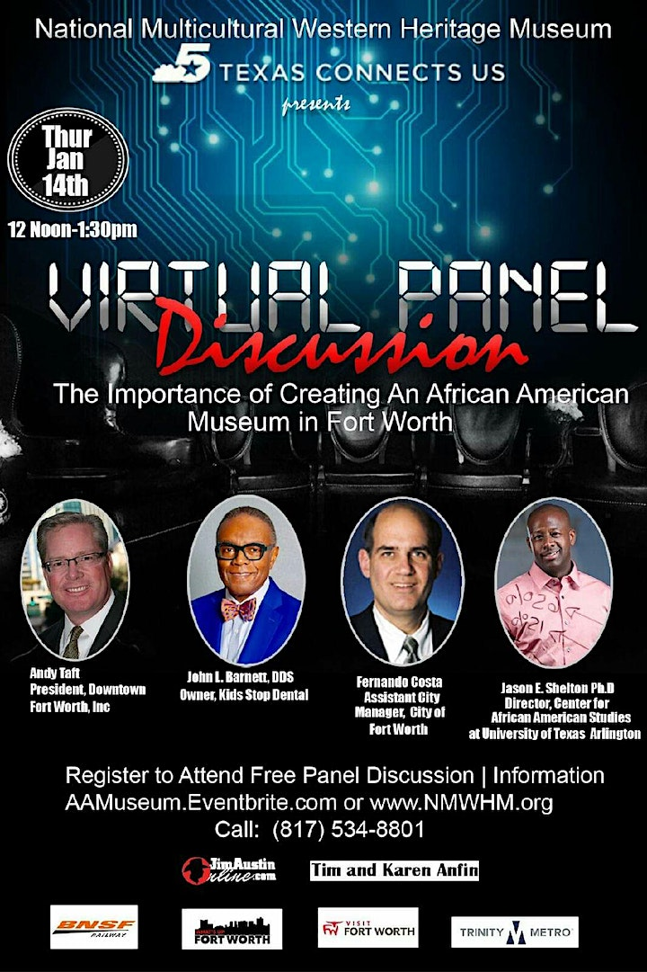 Creating An African American Museum In Fort Worth Panel Discussion image