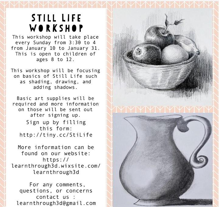 Still Life Workshop image