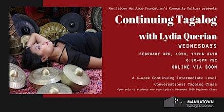 Kommunity Kultura presents Intermediate Conversational Tagalog with Lydia! tickets