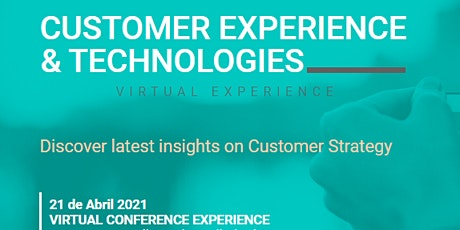 CUSTOMER EXPERIENCE & TECHNOLOGIES CONFERENCE entradas