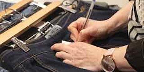 Atelier tri et couture Magasin Partage billets