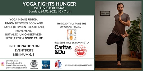 YOGA FIGHTS HUNGER tickets