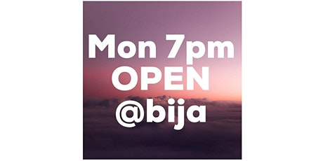 MONDAY 7PM BIJA YOGA OPEN CLASS 60m tickets