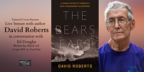 Live Stream with David Roberts in conversation with Ed Douglas tickets