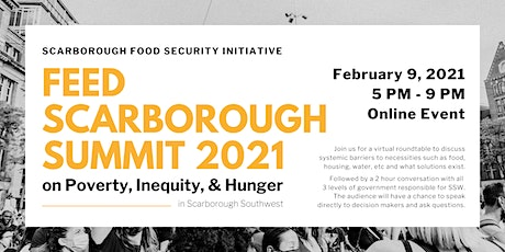 2021 Summit on Poverty, Inequity, & Hunger | Feed Scarborough tickets