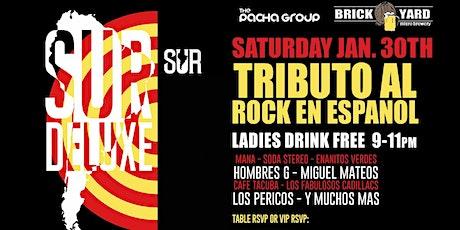 Tributo Al Rock En Espanol Live By SUR DELUX @ Brickyard Boca Raton tickets