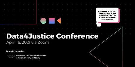 Data4Justice Conference tickets