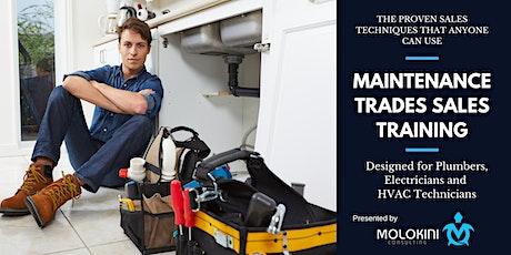 Tradie Sales Training tickets