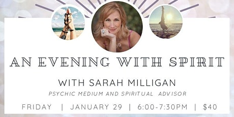 Virtual Evening with Spirit tickets