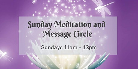 Zoom: Meditation and Message Circle tickets