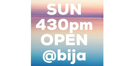 SUNDAY 430PM BIJA YOGA OPEN CLASS 45m tickets