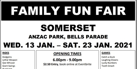 Somerset Family Funfair tickets