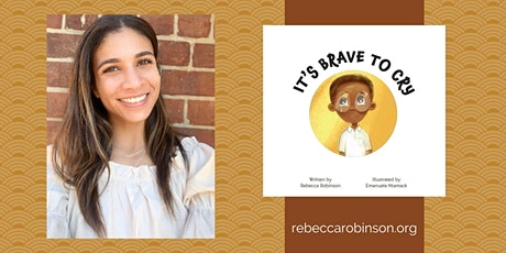 "Rebecca Robinson, Author ""It's Brave to Cry"" tickets"