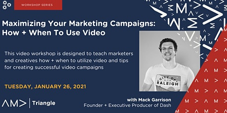 Maximizing Your Marketing Campaigns: How + When To Use Video tickets