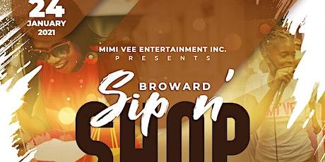 Broward Sip N' Shop tickets