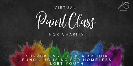 Virtual Paint Class  Supporting the Bea Arthur Fund tickets
