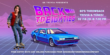 QE Trivia 045: Back to the Eighties Trivia (Pop Culture Virtual Pub Quiz) tickets