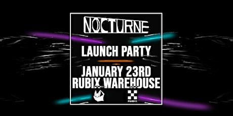 Nocturne @ Rubix Warehouse, Melbourne: 23rd Jan 2021 tickets