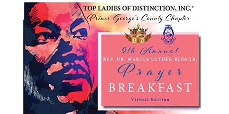 9th ANNUAL REV.  DR. MARTIN LUTHER KING  JR. PRAYER BREAKFAST tickets
