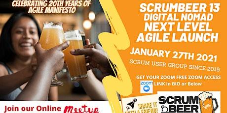 Agile Scrum Beer Montréal #13 - World Wide Online Scrum Gathering billets