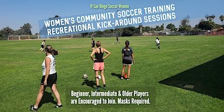 Soccer Women Training SATURDAYS (Masks + Distancing) tickets