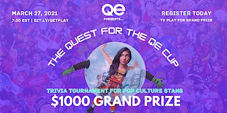 QE Trivia Virtual Pop Culture Tournament with $1000 Grand Prize! tickets