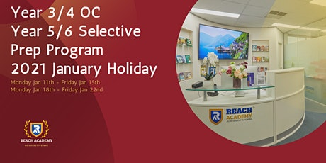 Year 3/4 OC & Year 5/6 Selective School Exam Prep Holiday Courses tickets