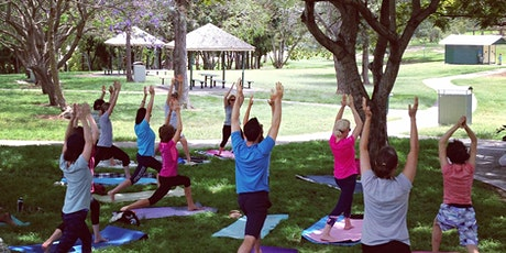 Free Yoga in Perth St Park. Camp Hill tickets