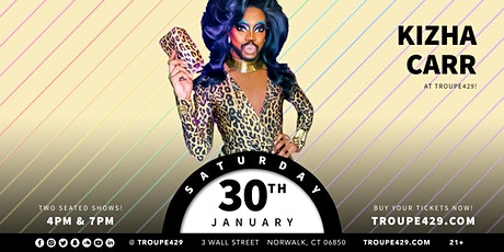 """Kizha Carr """"That Bearded Queen"""" drag show at Troupe429 - SAT JAN 30 (7PM) tickets"""
