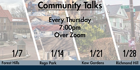 State of Council District 29-Community Talks-Kew Gardens, Jan.21, 2021,7pm tickets