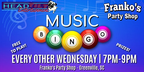 Music Bingo at Franko's Party- Every Other Wednesday Night tickets