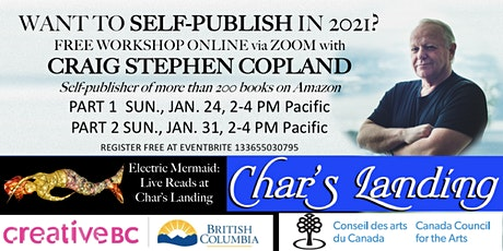 Get Started: Self-Publishing Workshop Part I & Part 2, with Craig Copland tickets